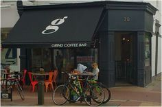 Grind is a very popular coffee shop on Lower Richmond Road. It started as a drum shop (owner Dave was a professional drummer) with coffee but now concentrates on serving amazing coffee  Dave keeps a close focus on the quality of our product and the friendliness of our customer service, helping Grind Coffee Bar in Putney build its foundations and a solid reputation.