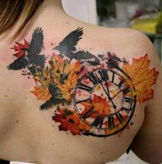 fall tattoo - 40 Unforgettable Fall Tattoos | Art and Design