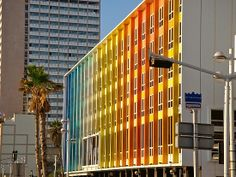The Terrier and Lobster: Rainbow of the Week: The Dan Hotel in Tel Aviv by Yaacov Agam