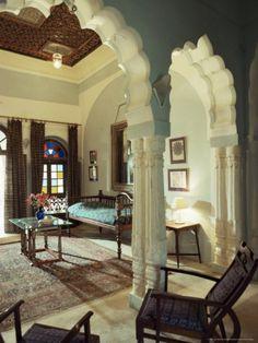 Neemrana Fort Palace Hotel, Rajasthan State India