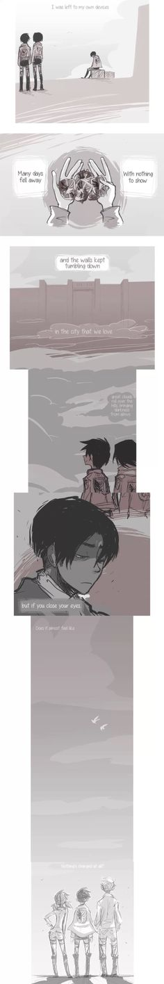 Levi and his friends from A Choice with No Regrets | Attack on Titan | Shingeki no Kyojin | Levi (Rivaille Ackerman)