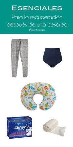 Esenciales para la recuperación después de una cesárea - C-seaction recovery essentials - happysloppymom.com #pregnancy #embarazo #essentials #cseaction #birth #parto