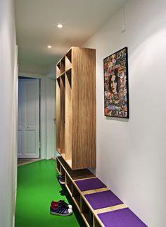 Entremøbel i egefinér  #indretning #interior #furniture #design #snedkeri #handmade #oak #eg #opbevaring #karstenk #rum4 www.rum4.dk
