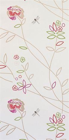 Mimou tapeter online, kollektionen Vintage Flower finner du hos oss. Fraktfritt över 300 kr. - Lovelyhome.se
