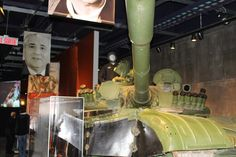 Soviet T-72 at the Canadian War Museum...