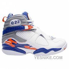 de1b6173a5b277 Buy Big Discount Air Jordan 8 Quentin Richardson Player Exclusive PE White  Blue Orange from Reliable Big Discount Air Jordan 8 Quentin Richardson  Player ...