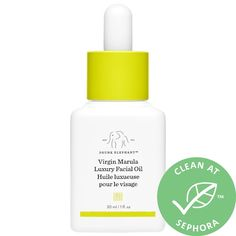 Shop Drunk Elephant's Virgin Marula Antioxidant Face Oil at Sephora. This rich facial oil moisturizes, nurtures, and balances while restoring a youthful glow. Sephora, Drunk Elephant Skincare, Oily Skin Care, Facial Oil, Active Ingredient, Fragrance, Diy Beauty, Beauty Hacks, Clean Beauty