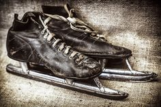 Antique Speed Skates by ErinFitzgibbon