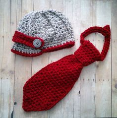Hey, I found this really awesome Etsy listing at https://www.etsy.com/listing/174713188/crochet-baby-boy-newsboy-hat-and-tie