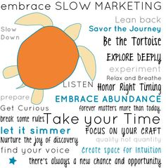 The Slow Marketing Manifesto