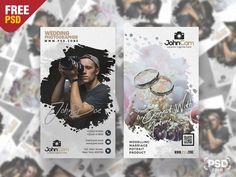 Wedding Photography Business Card PSD Design - PSD Zone