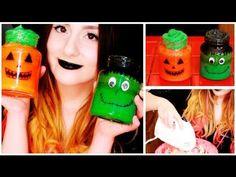 DIY: pasteles de miedo en frasquitos ¡para la noche de Halloween! http://ini.es/1rkrznm