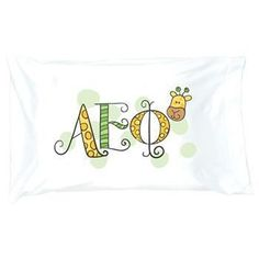 Alpha Epsilon Phi Pillowcase . Symbol