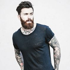 60 Manly Beards For Men - Striking Facial Hair Styles - - Not all beards are created equal. Discover the top 60 best manly beards for men and explore cool striking facial hair styles. Long Beard Styles, Beard Styles For Men, Hair And Beard Styles, Hair Styles, Mens Hairstyles With Beard, Haircuts For Men, Cool Hairstyles, Beard Look, Long Beards