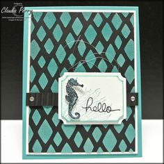 Stampin' Up!, By the Tide,decorative masks