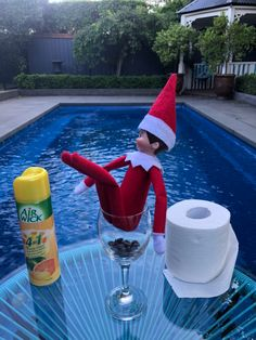 🚽 Taking a load off at the loo with a view! The Elf, Elf On The Shelf, December, Holiday Decor, Kids, Young Children, Children, Kid, Children's Comics