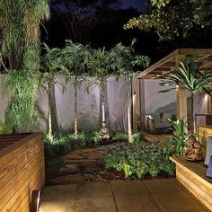 Roberto Trapé e a arquiteta Nathália Vitachi apresentam um jardim possível, com baixa manutenção e ao mesmo tempo bonito, confortável e sustentável. O grande destaque é a pata de elefante no centro do jardim, um exemplar da espécie com décadas de vida.
