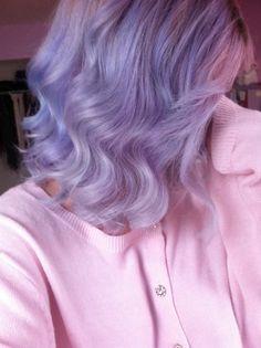 Short Lilac Purple Hair