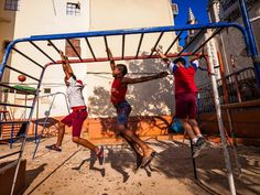 When visiting Havana, Cuba, Duman wanted to see what street life was like throughout the city, so he hired a local guide and set about walking for hours. Many of the sites he saw, including this image of children playing on worn-out playground equipment, reminded him of his childhood in Romania.