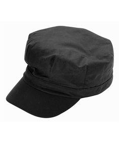 Barbour Ladies Wax Baker Boy- Black Barbour Hats 6372cbc6ad6a
