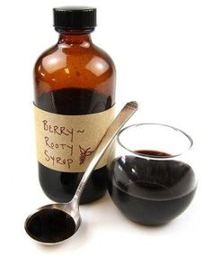 How to Make Berry Root Syrup for Sore Throat