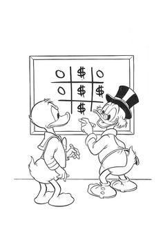 Donald Want To Borrow Some Money From Scrooge Mcduck Coloring Page : Kids Play Color Richest In The World, Scrooge Mcduck, Online Coloring, Coloring Pages For Kids, Some Fun, Ducks, Monopoly, The Borrowers, Kids Playing