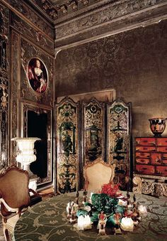 hutton wilkinson rooms | Palazzo Brandolini | Rocaille – A Blog about Decadence, Kitsch and ...