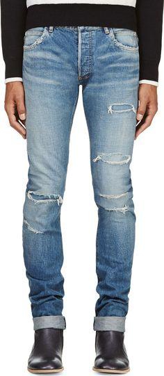 694a8ec8 18 Best Balmain mens style images | Man fashion, Biker jeans ...