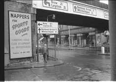 Woolworth store in Mare Street from Bohemia Place 1968 East End London, North London, Vintage London, Old London, Bethnal Green, London History, Old Street, London Life, Street Photo