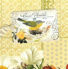 Vogel Tags, gele vogel Gift Tags, vogel liefhebber Tag