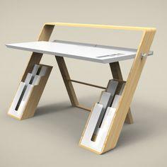 Fokus Desk Home Office Desk by Muhamad Zulkifie
