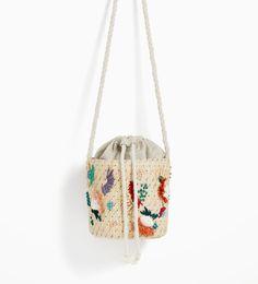 Image 5 of BEADED BASKET from Zara