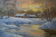 Зимний вечер | Токарь Наталья