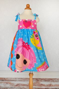 Lalaloopsy Dress LalaLoopsy Ruffle Dress Jewel by mghtaswelldance, $32.00