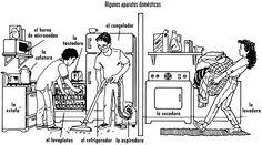 Algunos aparatos domésticos