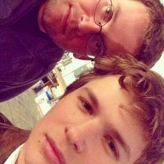 Ansel Elgort you may know him as Caleb from Divergent or Augustus from The Fault in our Stars