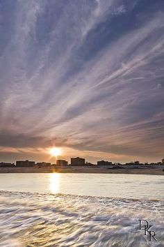Jersey Shore Beach Sunset - Wildwood Crest, NJ