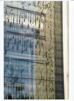 music as architecture  --  Sandbakk & Pettersen Arkitekter AS: 1998 - Parken Kulturhus - Kunstnerisk utsmykking