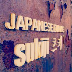 Japanese restaurant signboard ...