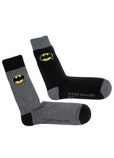Batman Mens Socks 2 Pack