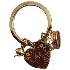 7079ab8ff940 Gold Metal Bag charm. Mulberry LogoMetallic BagLuxury ConsignmentKey  FobsPouchKeychainsBelly Pouch