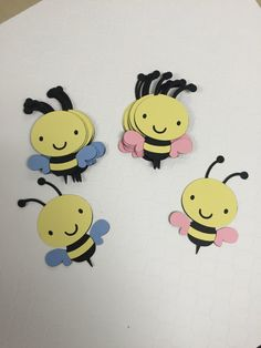 Qué va a Bee Abeja género revelan Baby por KikiDesignsCreations
