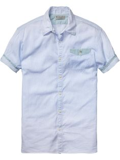 relaxed fit shirt | Shirt s/s | Men Clothing at Scotch & Soda
