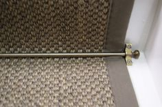 Sisal Tiger Eye Oriental Pewter stair runner with weathered larch cotton border x Sisal Stair Runner, Staircase Runner, Stair Runners, Stairs Width, Stairs Edge, Carpet Stairs, Carpet Flooring, Rugs On Carpet, Gallery Wall Staircase