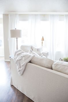 This post is in collaboration with Comfort Works. Ever since my Fall and Christmas home tours, I have received so many questions, comments and emails about our beautiful linen blend slipcovers, so I wanted to tell youall of the details about them today! I love the look of slipcovered sofas and sectionals. They really work...Read More »