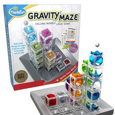 ThinkFun Gravity Maze Marble Run Brain Game and STEM Toy for Boys and Girls Age 8 and Up ? Toy of the Year Award Winner * More info could be found at the image url. (This is an affiliate link)