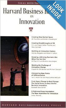 Harvard Business Review on Innovation: Harvard Business School Press: 9781578516148: Amazon.com: Books