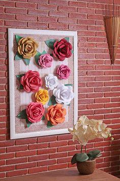 Como fazer flores de papel para decorar!