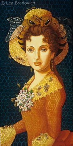 19th Century Queen Bee by Lea Bradovich (American, 1955)