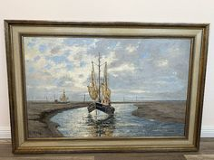 Steinmetz, Paintings, Art, Antique Furniture, Sailing Ships, Old Pictures, Paintings On Canvas, Landscape Pictures, Art Prints